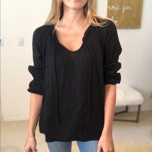 Michael stars black blouse